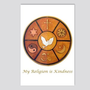 "Interfaith ""My Religion is Kindness"" Postcards (Pa"